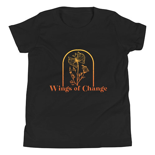 Wings of Change Youth Short Sleeve T-Shirt