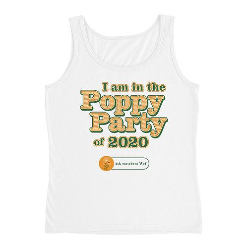 Poppy Party Ladies' Tank
