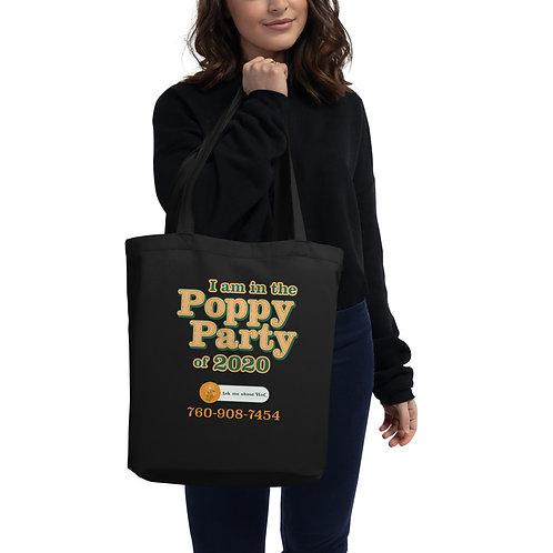 Poppy Party Eco Tote Bag