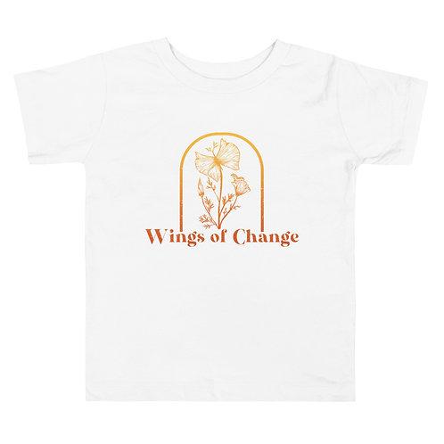 Wings of Change Toddler Short Sleeve Tee
