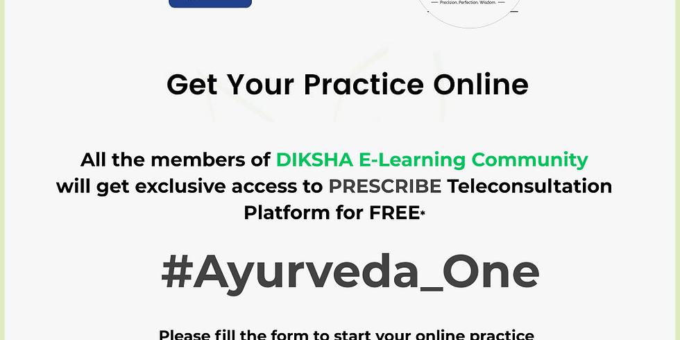 #Ayurveda_One   Introduction to Teleconsultation Platforms