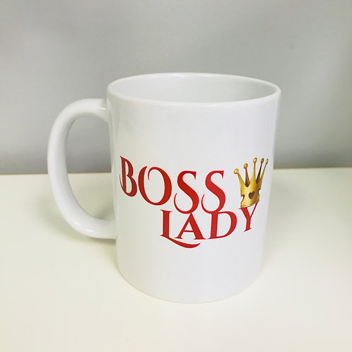 Boss Lady Crown Mug