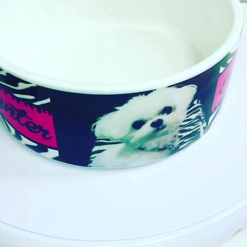 Personalized Large Pet Bowl - Dog