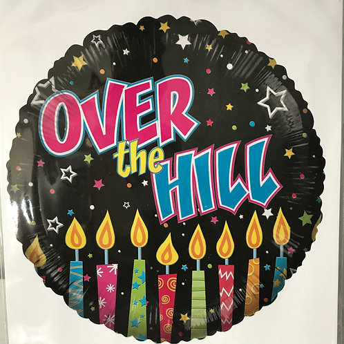 """""""Over The Hill"""" Candles Balloon"""