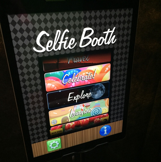 Our Selfie Booth!