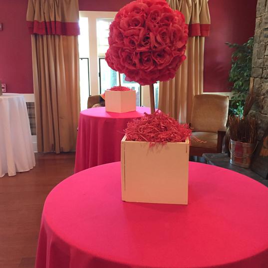 Custom Rose Centerpieces
