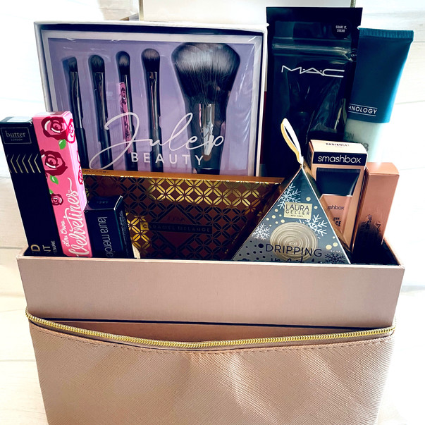 Luxury Make-Up and Skin Care Basket