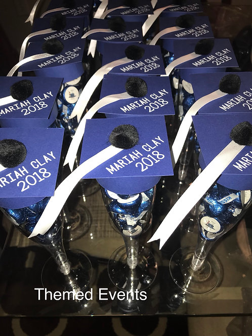Hershey Kisses Graduation Party Favors - 1 Dozen