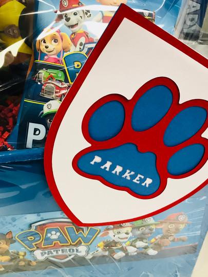 Paw Patrol Custom Gift Basket