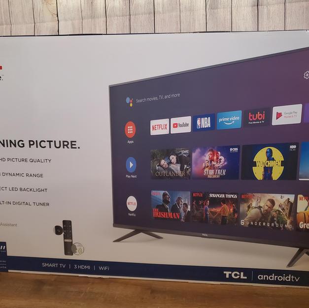 "#5 | 50"" TCL Smart TV"