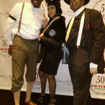 Guests at 1920's Themed Party