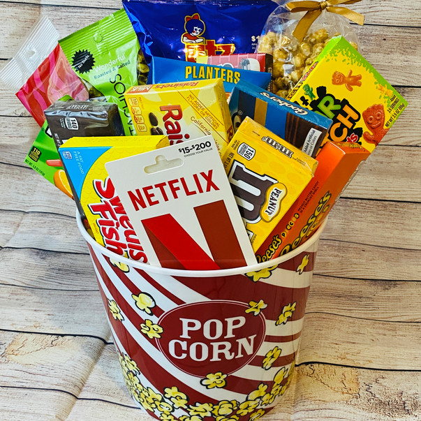 Netflix and Chill Basket