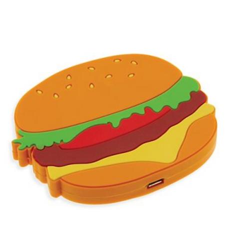 Moxi Cell Phone Charger - Cheeseburger
