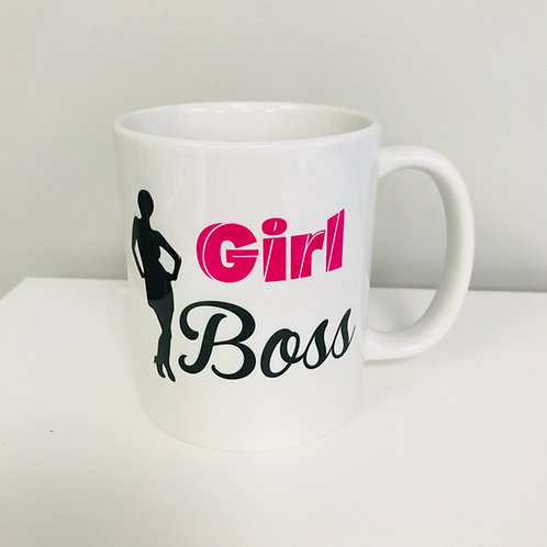 Girl Boss Sassy Coffee Mug