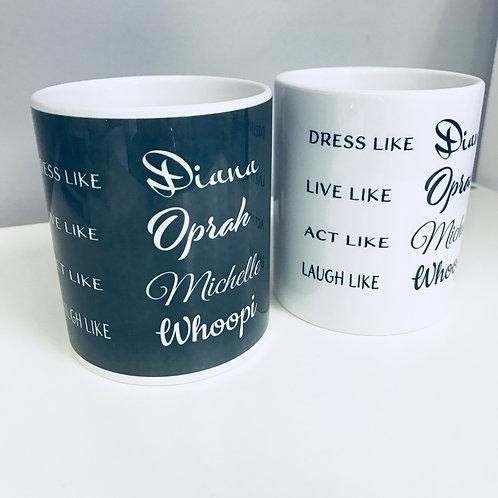 Lady Legends Coffee Mug - AA