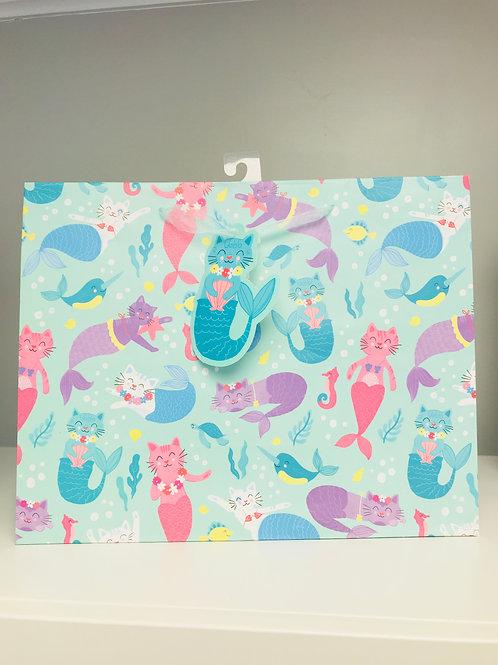 Large Mermaid Gift Bag