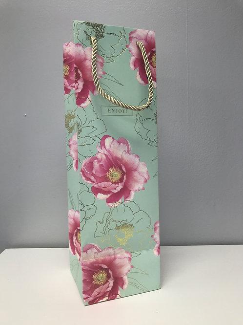 Flower Wine Bag - Enjoy