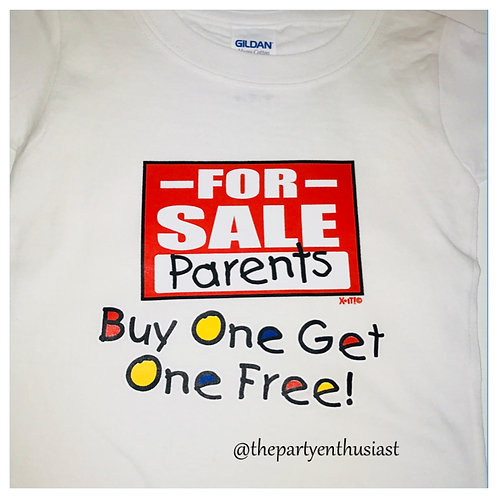 Parents For Sale Toddler T-Shirt