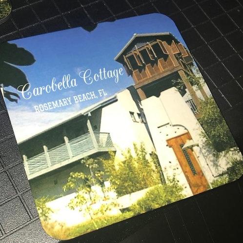 Custom Photo Coaster Set