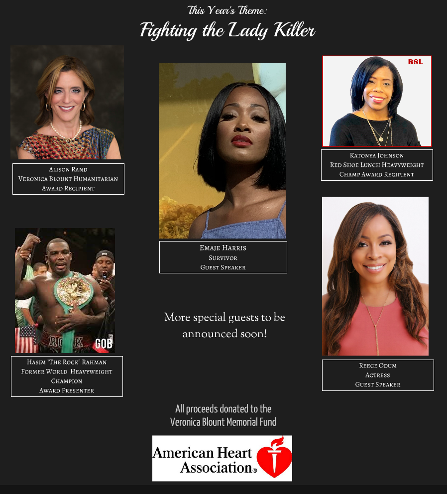 10th Annual Red Shoe Lunch Speakers