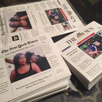 Newspaper Wedding Invites