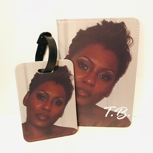 Photo Passport and Luggage Tag Set