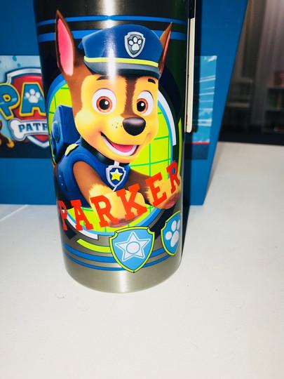 Paw Patrol Custom Cup