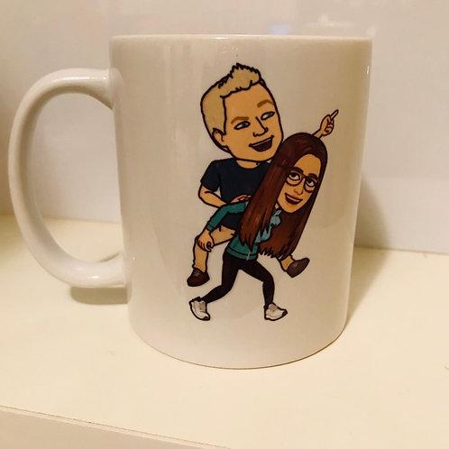 Custom Bitmoji Mug