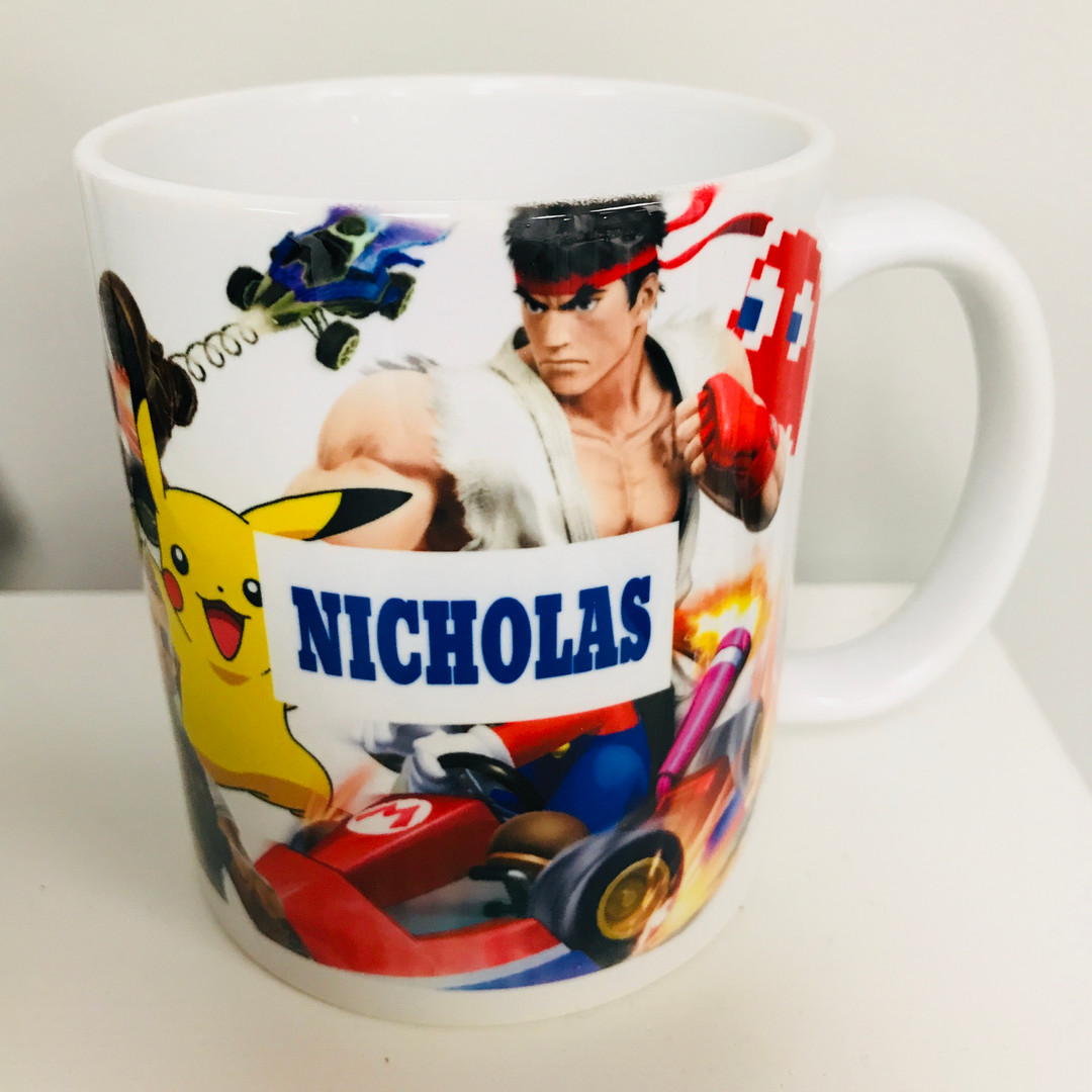 Custom Video Game Mug