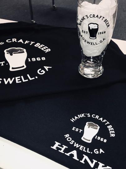 Custom T-shirt and matching beer mug