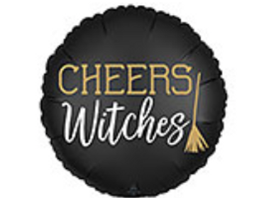 Cheers Witches Halloween Mylar Balloon