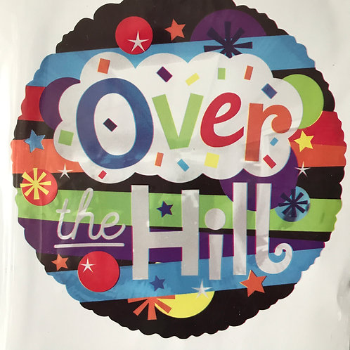 """""""Over the Hill"""" Striped Balloon"""