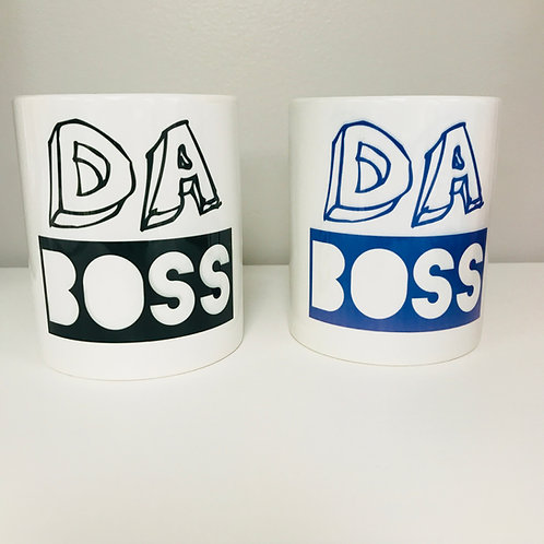 DA BOSS Coffee Mug