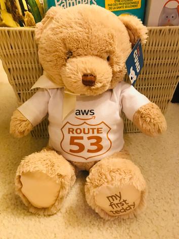 AWS Custom Teddy Bear