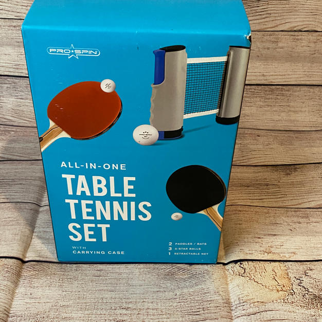 #6 | All in One Table Tennis Set