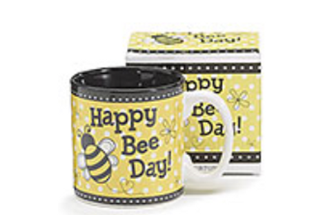 Happy Bee Day Mug