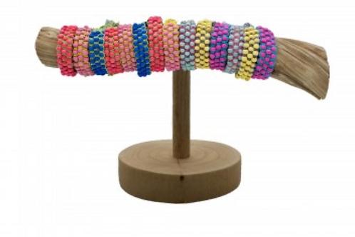 Wooden Bead Bracelets - Assorted