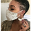 Thumbnail: Gold Leather Face Mask and Earring Set