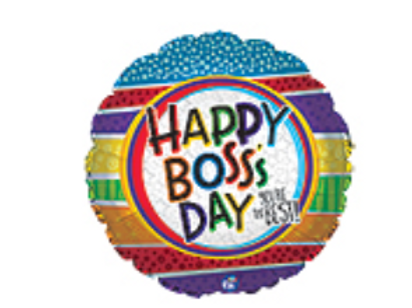 Boss's Day Mylar Balloon
