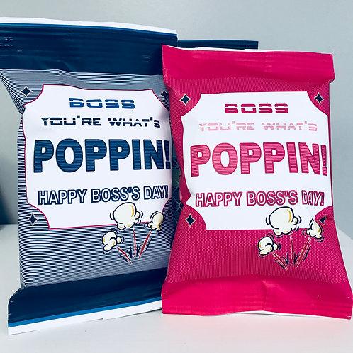 Boss You're What's Poppin Pop-Corn