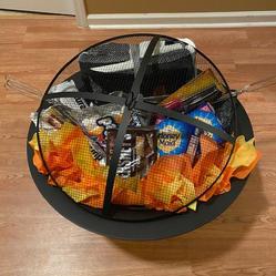 "#4   30"" Fire Pit Smore's Basket"