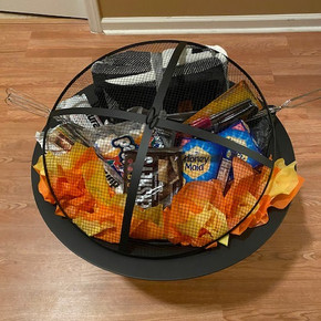 "30"" Fire Pit Smore's Basket"