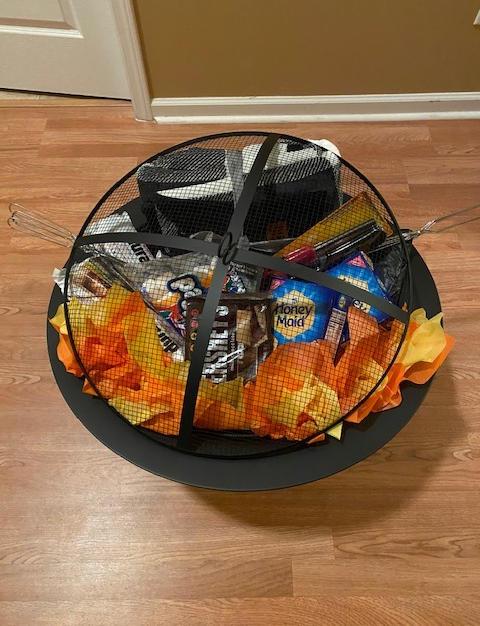 "#4 | 30"" Fire Pit Smore's Basket"