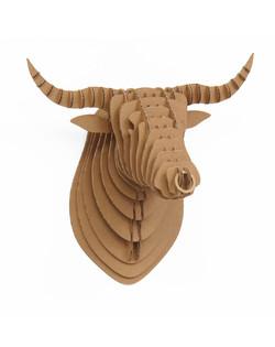 Cardboard Bull 5