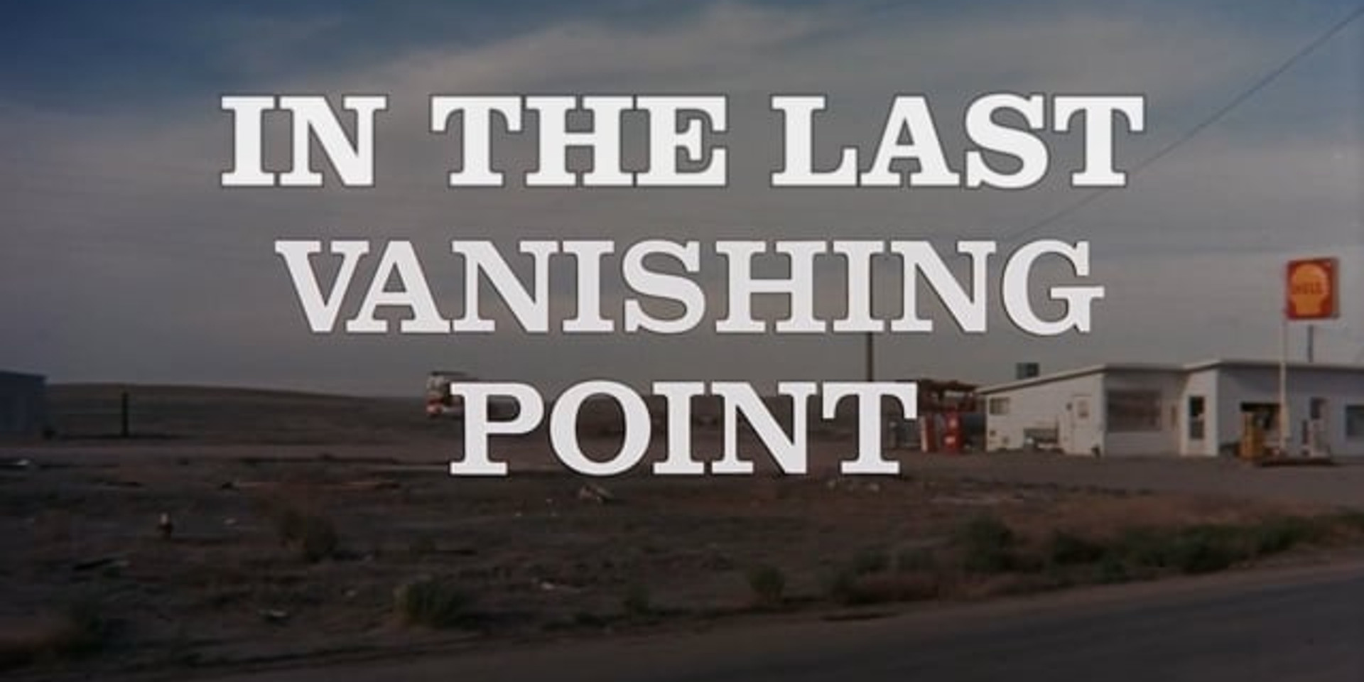 In The Last Vanishing Point