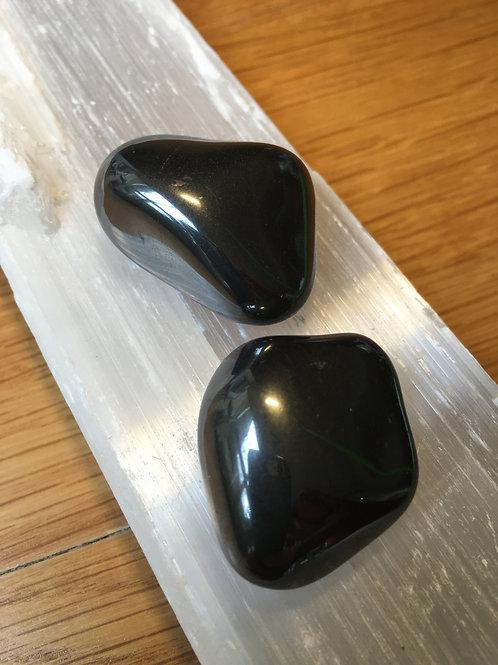 Hematite Polished Tumble Stone large