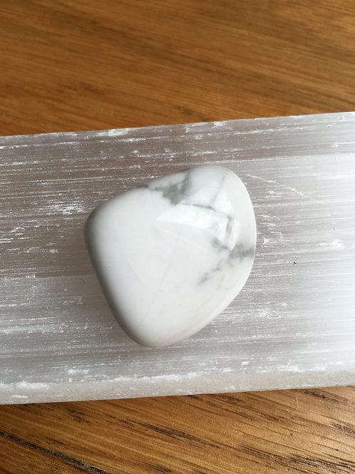 Howlite (White) Tumbled Stone