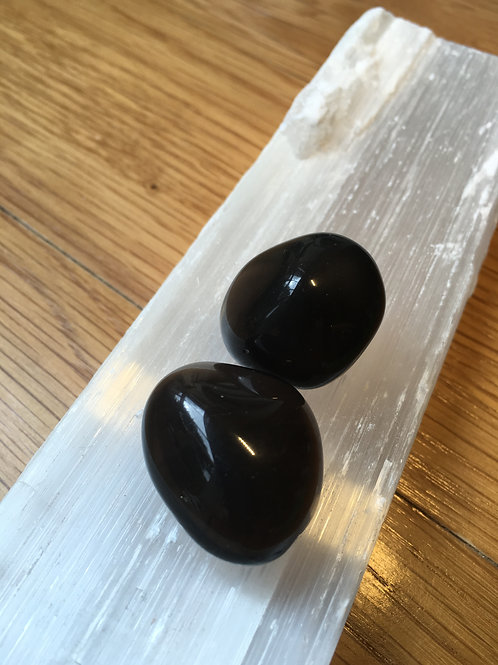 Obsidian (Apache Tear) Tumble Stones