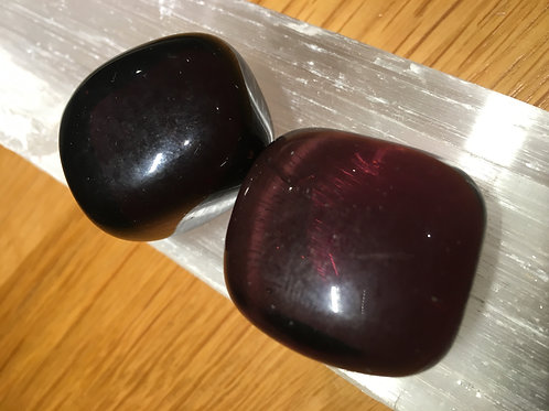 Obsidian (Purple) Polished Tumble stones