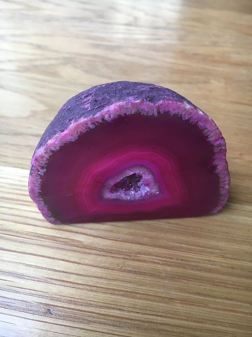 Agate (Pink) Ends and Caves medium